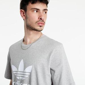 adidas Originals adidas Trefoil Tee Medium Grey Heather  - Gray - Size: 2X-Large