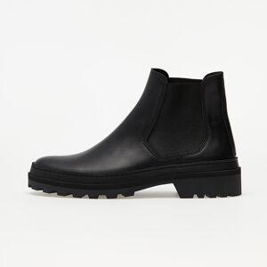 A.P.C. Cali Lug Sole Chelsea Boot Black/ Black/ Black  - Black - Size: 12