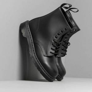 Dr. Martens 1460 Smooth Mono Black  - Black - Size: 10.5