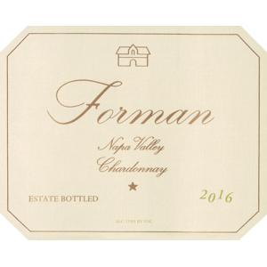 Forman Chardonnay Napa Valley 2016