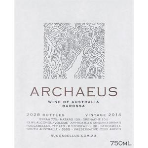 Ruggabellus Archaeus Barossa 2014