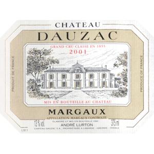Chateau Dauzac Chat Dauzac 2001