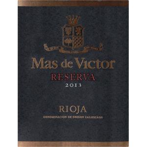 Carlos Serres Mas De Victor Rioja Reserva 2013