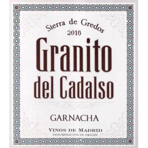 """"""""""" Granito Del Cadalso Vinos De Madrid 2016"""