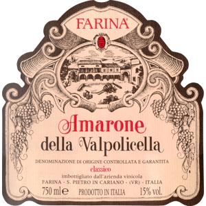 FORMICA Farina Amarone 2016