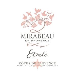 """"""""""" Mirabeau Etoile Cotes De Provence Rose 2019"""