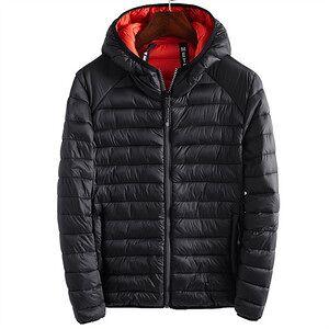 China Factory Lightweight Folding Outdoor Winter Mens Duck Padded Coat Down Jacket Hood