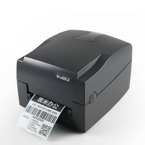 Godex G500 203spi USB dymo shipping jewelry tag taffeta satin wash care label thermal transfer label barcode printer