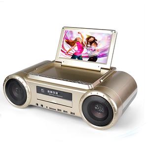 Konsta  LED 9'' Color Karaoke Player Home Dvd Player