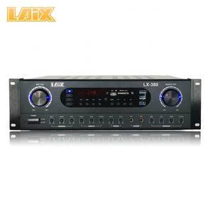 Laix Lx-380 Amplifier Hi-End Best Karaoke Powered Tooth Blue Stereo Brand Name Power Signal China Amplifiers