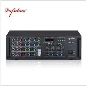 Professional 8ohm watt karaoke tube audio power amplifier for home theater amplifier