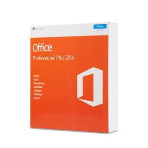 Original Microsoft Office 2016 Pro Plus Retail Key With DVD  Retail Box Package 2016 Professional Plus One year warranty