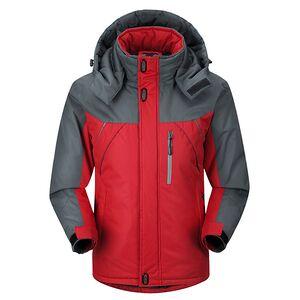 Men's Waterproof Windproof Padded Jacket Polyester Winter Coat