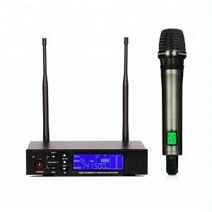 Professional karaoke microphone one channel handheld  best uhf wireless microphone