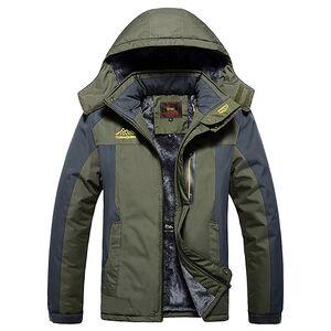 Outdoor Winter SkiThick Fleece Coat Jacket For Men Winter,Oil Field Jacket With Hood Replacement