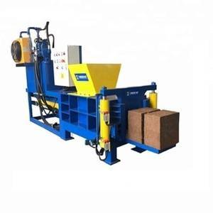 Hydraulic Coir Peat Block Making Baler Machine For Agricultural Lands