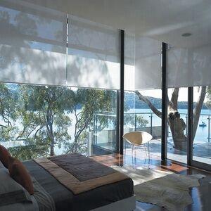 smart home  motorized wifi control custom make roller blinds