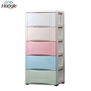 New Style Multiscene Baby Plastic Drawer Storage Cabinet