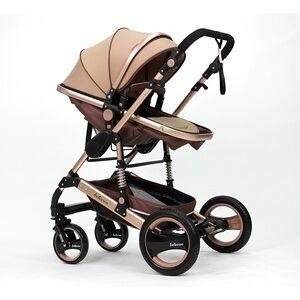 Wholesale Factory Price Luxury Lightweight Travel Strollers Walkers Carriers Baby Stroller Pram 3 en 1 Poussette Bebe