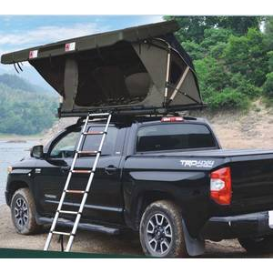 Gas Strut Roof Top Tent Hard Shell For Cars Trucks SUV Camping Outdoor Travel Mobile