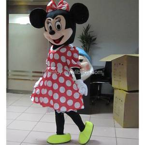 Funtoys CE cheap mickey and minnie mascot costume