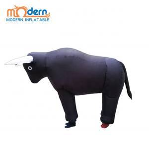 Inflatable Spanish Bull Costume For Adult