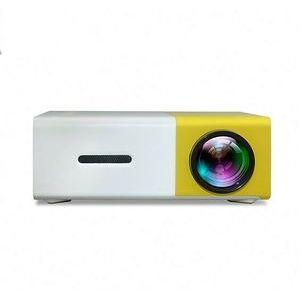 Newest Mini YG300 Lcd Projector 400 - 600 Lumens 320 X 240 Pixels 3.5Mm Audio/HD/Usb/Sd Inputs Media