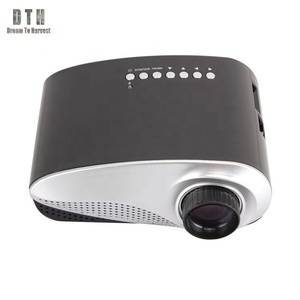 The newest 802 portable home projector with HD MI TV interface LED mini projector RD802