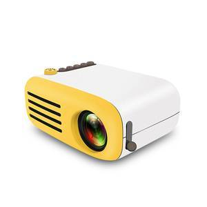 New YG200 Home Micro Projector LED Mini Portable Projector 1080P HD Projector