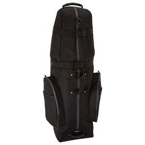 Black Soft Sided Golf Travel Bag Cover Custom Golf Air Bag With Wheels