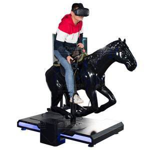 Earn Money Interactive Amazing Vr Shooting Game 9D Virtual Reality Horse Riding Simulator For Sale