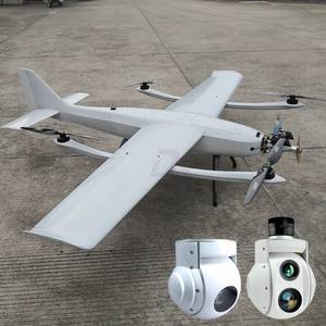 5-8 Hours Long Endurance Fuel Power Drone Gasoline Engine Fixed Wing UAV
