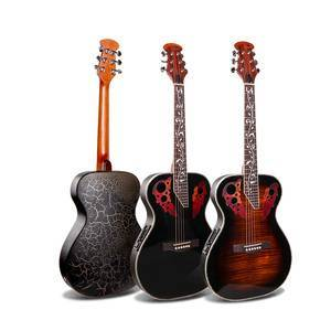 36 inch OEM Quality Small Travel Size Ovation Acoustic Electric Guitar M-3660 with High-gloss
