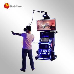 Amusement Park Equipment 9d VR Game Machine CS Battle VR Shooting Game Machine