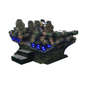 Earn Money Amusement Park Equipment VR Tank 6 Seat Cinema 3D Glass Virtual Reality Tank 9D VR Cinema