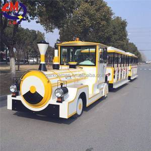Tourist amusement park Mini trackless electric train