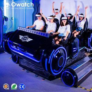 Owatch - 2019 Factory Direct Sale 6-seat Family Games Machine 9D VR Games Simulator