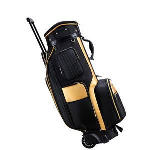 Custom Golf Travel Bags Wheels Standard Stand Caddy Bag Nylon Golf Bags