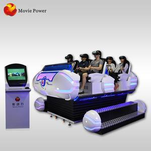 2018 hot sale virtual reality game simulator motion ride with VR glasses