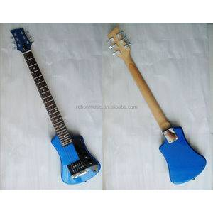 Weifang Rebon travel mini electric guitar with small body