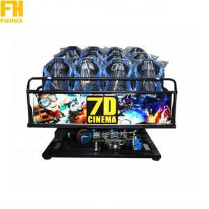Virtual Reality 6D Simulator 9D Cinema 3D 4D 5D Cinema Equipment Amusement Park 7D Cinema Simulator Cabin 5D Theater