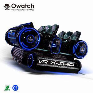 Earn Money Small Business 9d VR Shooting Simulator 6 Seats 9D VR Cinema  Simulator