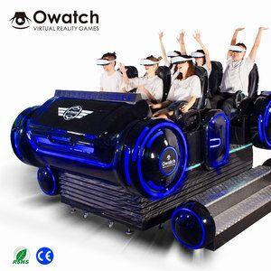 Earn Money Small Business 9dvr Shooting Simulator 6 Seats 9D VR Cinema VR Simulator VR Tank