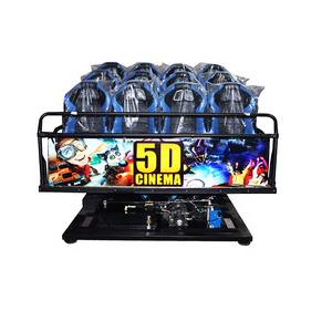 Top Sale Earn Money  5D Cinema Equipment Electric Mobile 5D Cinema with 5D Cinema Cabin