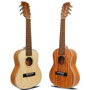 28 inch  6 strings Wholesale high quality mini travel guitar guitalele OEM