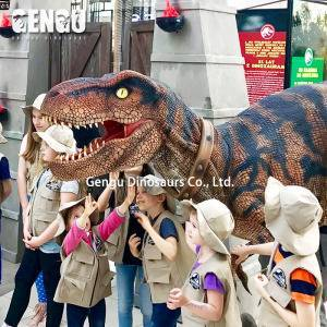 Stage Show Professional Life Size Realistic Dinosaur Costume