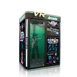 2019 Latest Product Easy Operated Coin Operated Self Service 1 Player Virtual Reality VR Arcade Game Machine