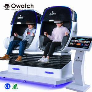 Factory owatch 2 Seats VR Chair cinema 9d egg chair 9D Virtual Reality with 2K Vr glasses
