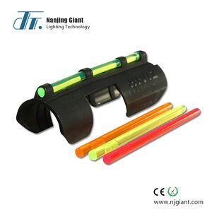 Acrylic optical fiber rod for red dot sight lens