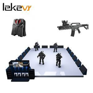 Indoor arcade games electronic 4 players vr entertainment shooting arcade game machine